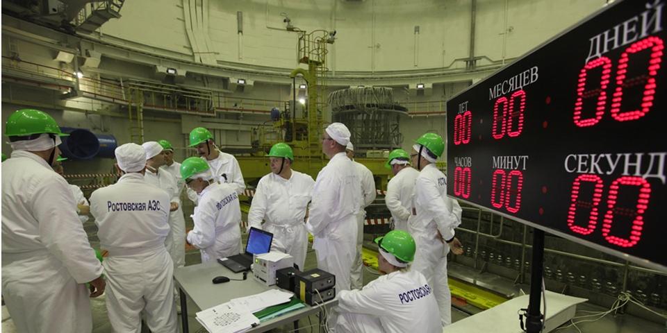 Ростовская АЭС. Третий блок в сети, четвертый - на подходе