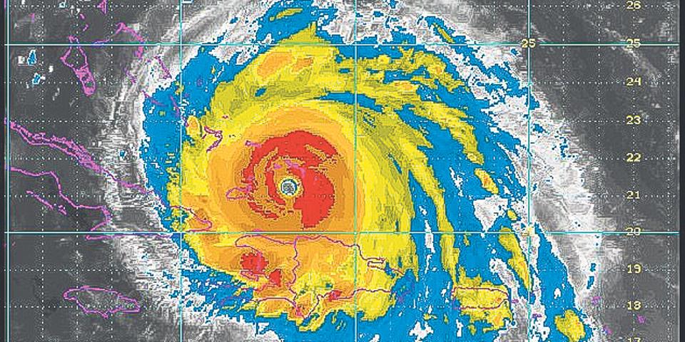 Онлайн-карта атлантических циклонов