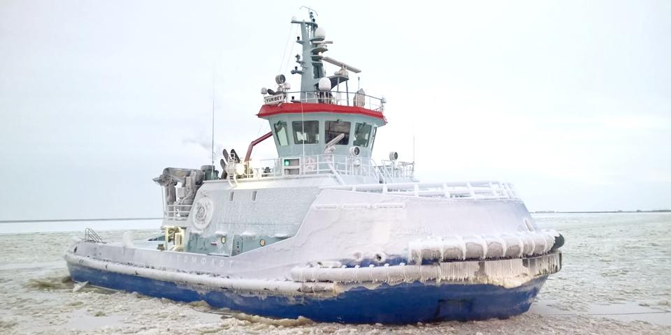«Юрибей» уже приступил к работе в порту Сабетта