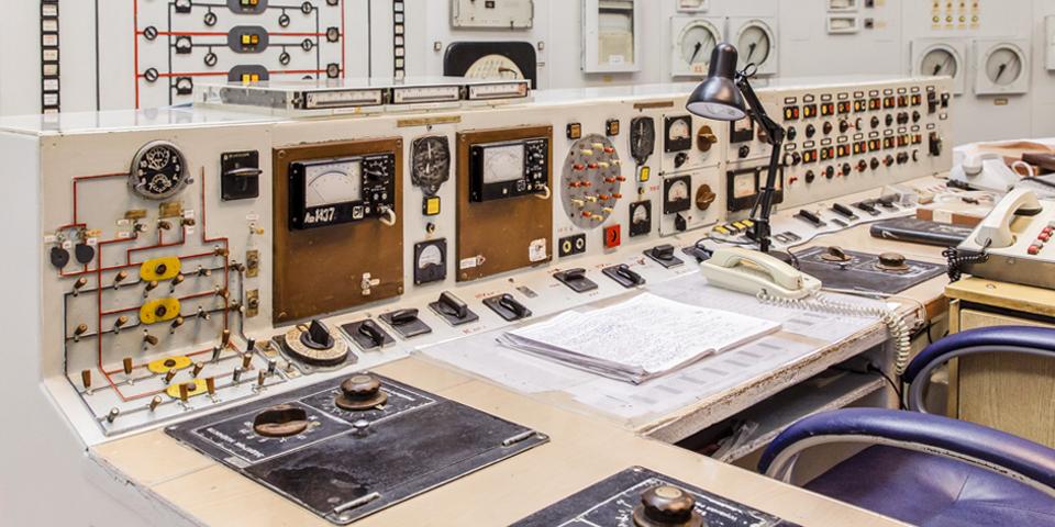 Пульт управления — сейчас это музей ФЭИ