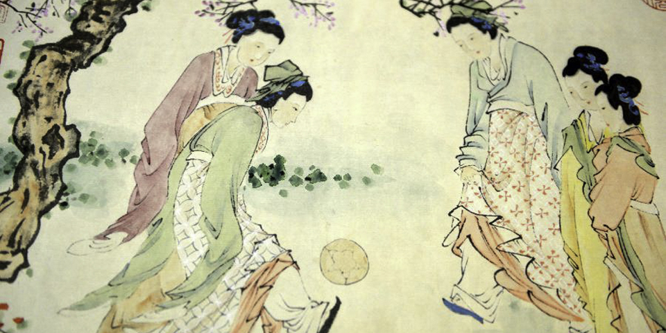 В 2004 году ФИФА признала китайскую игру чжу-кэ самой древней версией футбола