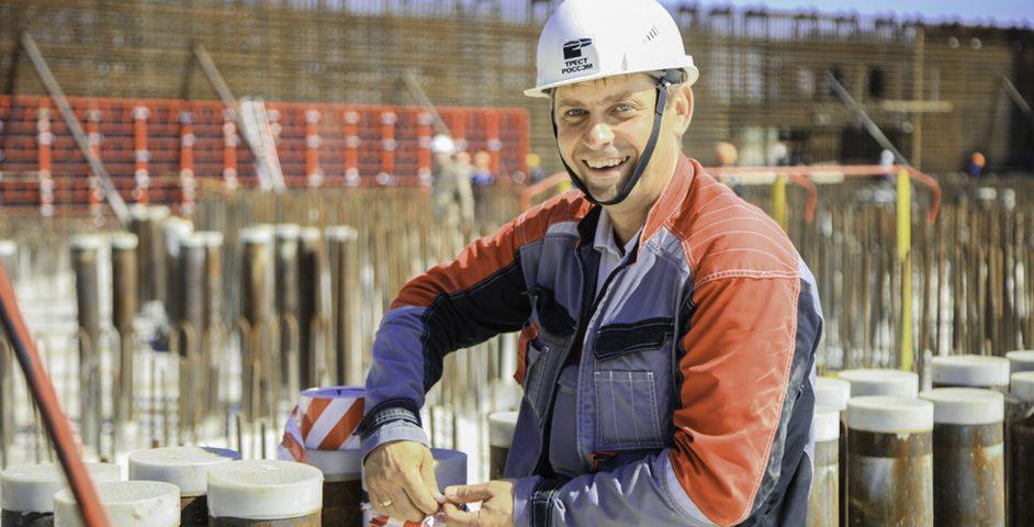 За реакторное здание отвечают специалисты «РосСЭМа»