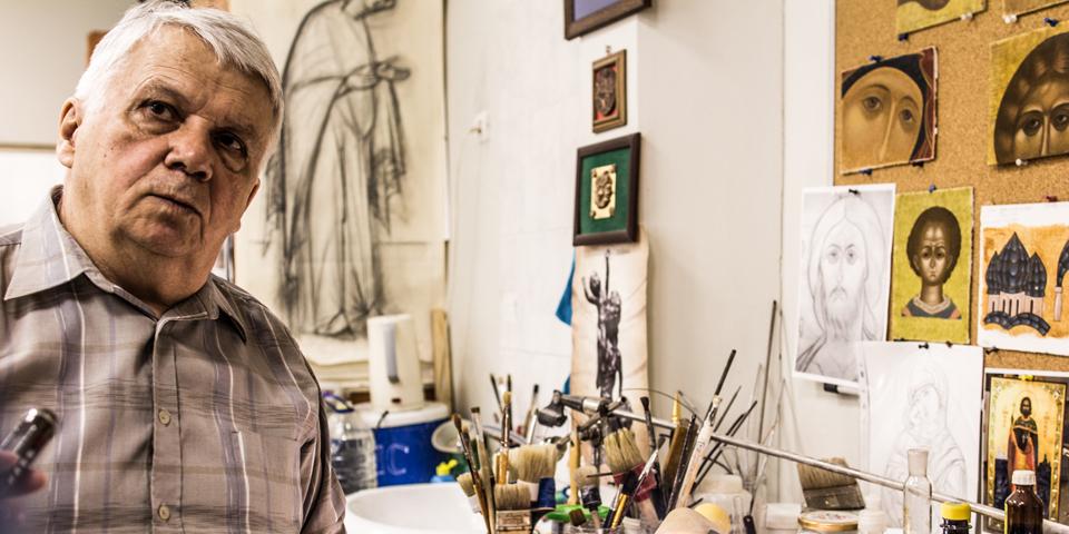Владимир Дубровин — скульптор, иконописец, почетный гражданин Новоуральска