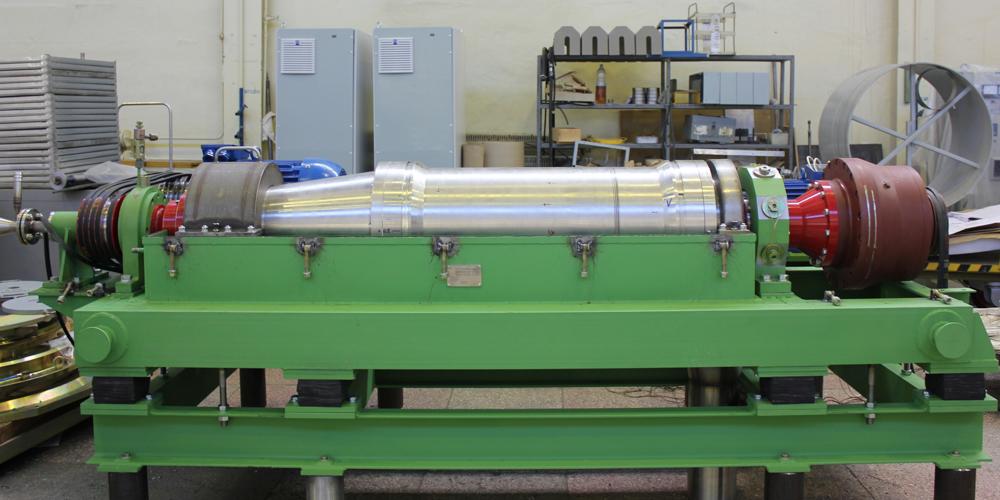 Такие центрифуги ЭХП изготавливает по заказу «СвердНИИхиммаша»