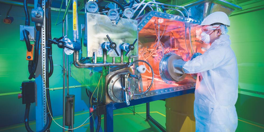 В «Росатоме» созданы безопасные технологии переработки радиоактивных отходов