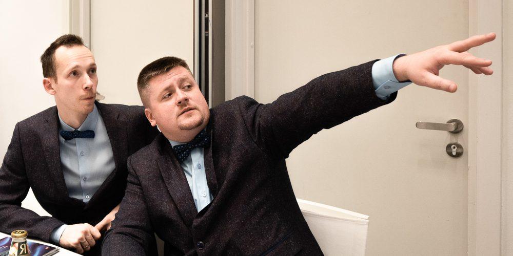 Александр Чусов и Александр Пилюгин — знатоки с Нововоронежской АЭС