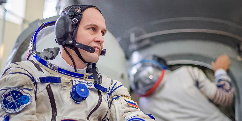 Биолог Сергей Рязанский стал первым ученым— командиром экипажа космического корабля