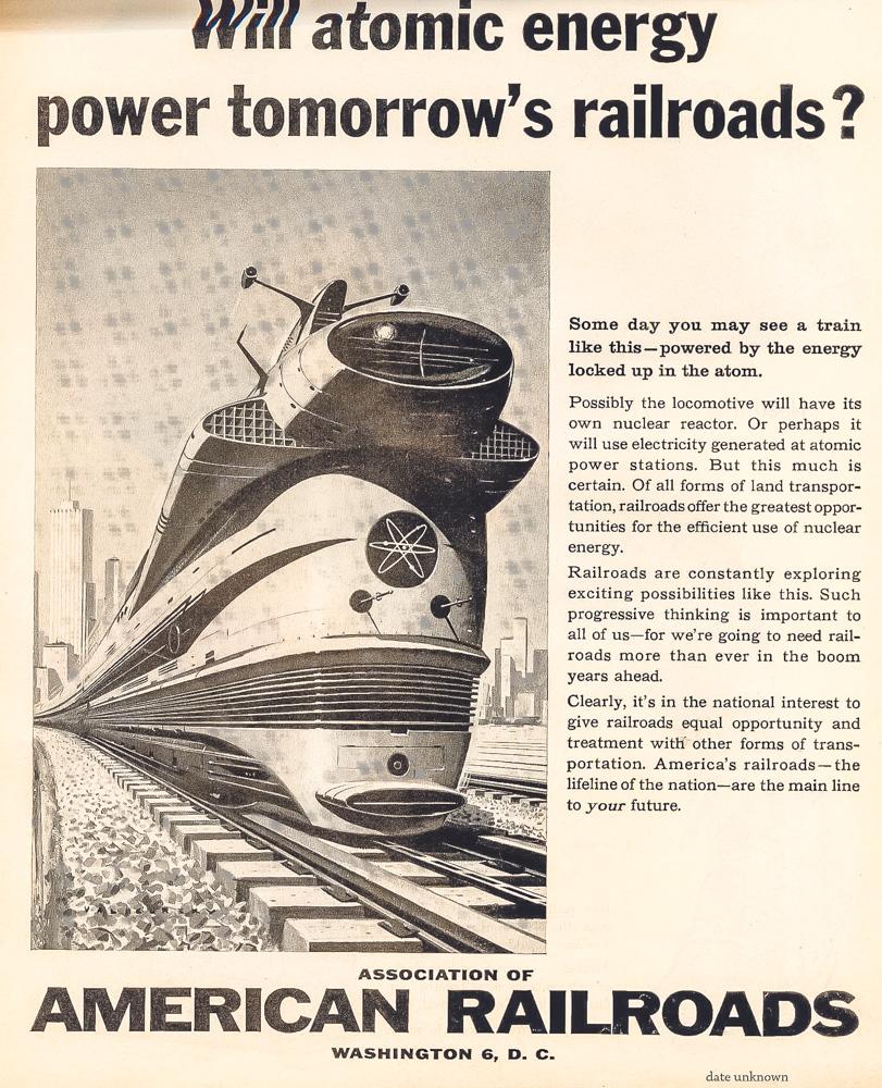 «Более чем возможно»,— говорится вбуклете обатомном локомотиве