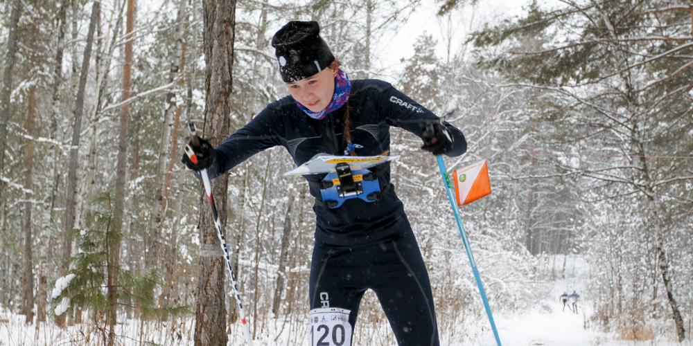 Дарья Шупикова занимается спортивным ориентированием в зеленогорской спортивной школе с 1-го класса