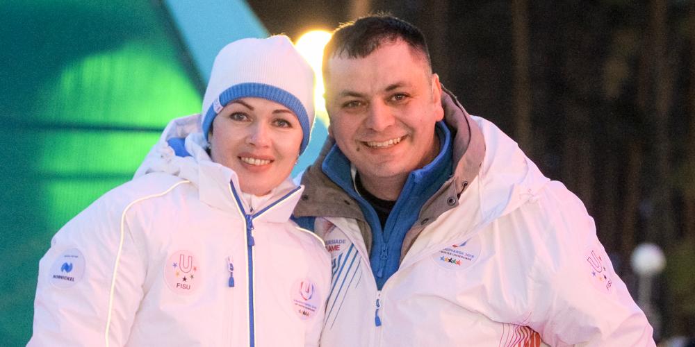 Для участия в Универсиаде волонтер Василий Казаков взял отпуск на основной работе на ГХК